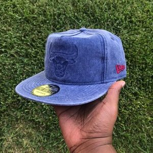 Chicago Bulls Denim New Era SnapBack